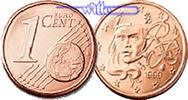 1 Cent 2000 Frankreich Kursmünze, 1 Cent stgl  2,50 EUR  + 7,00 EUR frais d'envoi