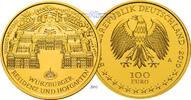 100 Euro 15,55g fein 28 mm Ø 2010A Deutschland Würzburger Residenz und ... 650,00 EUR  + 23,00 EUR frais d'envoi