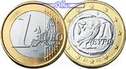 1 Euro 2005 Griechenland Kursmünze, 1 Euro stgl  7,50 EUR  + 7,00 EUR frais d'envoi
