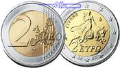 2 Euro 2002 Griechenland Kursmünze, 2 Euro stgl  24,80 EUR  + 7,00 EUR frais d'envoi
