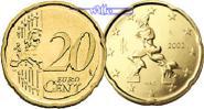 20 Cent 2008 Italien Kursmünze, 20 Cent * stgl  5,50 EUR  zzgl. 3,95 EUR Versand