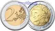2 Euro 2008 Italien Kursmünze,  2 Euro * stgl  26,90 EUR  + 17,00 EUR frais d'envoi