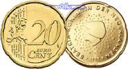 20 Cent 2010 Niederlande Kursmünze, 20 Cent * stgl  12,00 EUR  + 7,00 EUR frais d'envoi