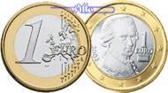 1 Euro 2008 Österreich Kursmünze, 1 Euro * stgl  8,50 EUR  + 7,00 EUR frais d'envoi