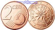 2 Cent 2008 Österreich Kursmünze, 2 Cent * stgl  4,90 EUR  + 7,00 EUR frais d'envoi