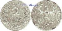 2 RM 1926 D Weimarer Republik Kursmünze, ssPatina  24,00 EUR  + 7,00 EUR frais d'envoi