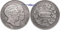 Konventions- taler 1831 S. Sachsen Königreich Anton König und Friedrich... 290,00 EUR  + 17,00 EUR frais d'envoi