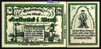 50 Pfg  1921.01.27 Delbrück Westfalen Stadt 27.1.1921, Wz Ovalmuster I-  5,00 EUR  zzgl. 3,95 EUR Versand