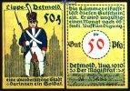 50  Pfg.  1920.08 Detmold, Lippe Bauwerke und Soldatenserien, versch. F... 1,50 EUR  zzgl. 3,95 EUR Versand