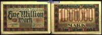 1 Million Mark  1923.06.15 Württemberg Notenbank Stuttgart, Grab. WTB 1... 4,00 EUR  + 7,00 EUR frais d'envoi