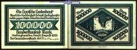 Hundertausend Mark  1923.08.12 Lippe Schecks auf die Lippische Landesba... 88,00 EUR  + 17,00 EUR frais d'envoi
