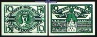 10 Pfg.  1920,03.01 Paderborn, Stadt, 1.Ausgabe Jos. Dominicus, -selten... 3,00 EUR  + 7,00 EUR frais d'envoi