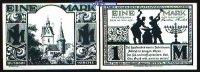 1 Mark  1921.11.10 Paderborn, Stadt, 7.Ausgabe Schattenrisse, Serie B, ... 1,00 EUR  zzgl. 3,95 EUR Versand