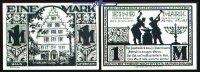 1,- Mark  1921.11.10 Paderborn, Stadt,  9.Ausgabe Schattenrisse, Serie ... 1,00 EUR  zzgl. 3,95 EUR Versand