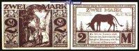2,- Mark  1921.11.10 Paderborn, Kreisstadt, 8.Ausgabe Schattenrisse, Se... 1,00 EUR  + 7,00 EUR frais d'envoi