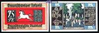 75 Pfg  1921,05,01 Braunschweig Braunschweiger Staatsbank, Serie Bad Ha... 1,10 EUR  + 7,00 EUR frais d'envoi