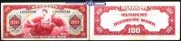 100 Mark 1948 Bank Deutscher Länder Ro.244, sog. Kopfgeld, Roter Hunder... 1190,00 EUR  + 23,00 EUR frais d'envoi