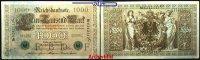 1000 Mark 1910 21,04 Deutsches Reich Reichsbanknote, Brauner Tausender,... 2,00 EUR  + 7,00 EUR frais d'envoi