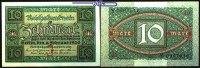 10 Mark 50 x 1920 6,02 Deutsches Reich Reichsbanknote, Ro.63a, 50x, mit... 50,00 EUR  zzgl. 5,00 EUR Versand