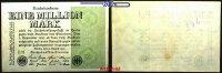 1 Million Mark 1923 9,08 Deutsches Reich Inflation, Reichsbanknote, Ro.... 3,00 EUR  + 7,00 EUR frais d'envoi