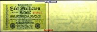 10 Millionen Mark 1923 22,08 Deutsches Reich Inflation, Reichsbanknote,... 4,00 EUR  zzgl. 3,95 EUR Versand