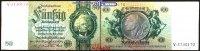 50 Reichs mark 1933 30,03 Deutsches Reich Reichsbank, David Hansemann, ... 15,00 EUR  zzgl. 3,95 EUR Versand
