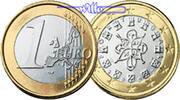 1 Euro 2004 Portugal Kursmünze, 1 Euro stgl  4,00 EUR  + 7,00 EUR frais d'envoi