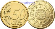 50 Cent 2008 Portugal Kursmünze, 50 Cent * stgl  14,90 EUR