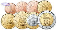1 Cent -2 Euro, 3,88 2008 San Marino Kursmünzen, kompl. Satz 2008 * stgl  48,00 EUR  + 17,00 EUR frais d'envoi