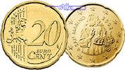 20 Cent 2008 San Marino Kursmünze,20 Cent stgl  6,00 EUR  + 7,00 EUR frais d'envoi