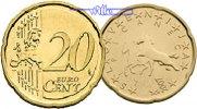 20 Cent 2007 Slowenien Kursmünze, 20 Cent stgl  1,50 EUR  + 7,00 EUR frais d'envoi