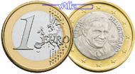 1 Euro 2011 Vatikan Kursmünze, 1 Euro stgl  35,00 EUR  zzgl. 5,00 EUR Versand