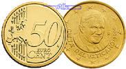 50 Cent 2012 Vatikan Kursmünze, 50 Cent stgl  8,50 EUR  + 7,00 EUR frais d'envoi