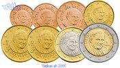 1 Cent -2 Euro, 3.88 2011 Vatikan Kursmünzen, kompl. Satz 2011 * stgl  105,00 EUR  + 17,00 EUR frais d'envoi
