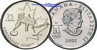 25 Cent 2007 Vancouver Oly Winter Vancouver 2010 Curling (Eisstockschie... 2,50 EUR  + 7,00 EUR frais d'envoi