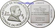 Frankreich 1 1/2 Euro Mendes, Aristides De Sousa, inkl. Etui & Zertifikat & Schuber