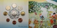 5,88 2004 Finnland Kursmünzensatz / 2. Ausgabe + Medaille Tove Jansson ... 55,00 EUR  + 17,00 EUR frais d'envoi