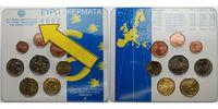 3,88 2002 Griechenland Kursmünzensatz / NL-Mint 3-zeilig stglimBlister  25,00 EUR  + 7,00 EUR frais d'envoi