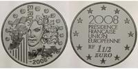 Frankreich 1 1/2 Euro Europäische Präsidentschaft - Europaprogramm -inkl. Etui & Zertifikat & Schuber