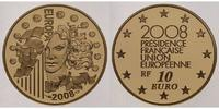 Frankreich 10 Euro, 7,78g <br>fein<br>22 mm  Europische Prsidentschaft - Europaprogramm - inkl. Etui & Zertifikat & Schuber