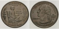 1/4 $ 2003 P USA Alabama P - Kupfer-Nickel - vz  5,00 EUR  + 7,00 EUR frais d'envoi