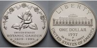 USA 1 $ 1997  stgl 175 J. US Botanic Garden in Washington / Rose, in Kap... 110,00 EUR