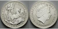 2 Pfund 1999 Großbritannien Britannia, stgl  89,00 EUR  + 17,00 EUR frais d'envoi
