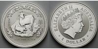 1 $ 2003 Australien Jahr der Ziege / Chines.Tierkreiszeichen stgl  155,00 EUR  zzgl. 5,00 EUR Versand