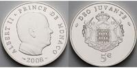 5 Euro 2008 Monaco Albert II.Prince de Monaco-im originalem Etui u.Zert... 70,00 EUR  + 17,00 EUR frais d'envoi