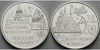 10 Euro 2010 Slowakei Holzkirchen im slowakischen Teil des Karpatenboge... 39,50 EUR  + 17,00 EUR frais d'envoi