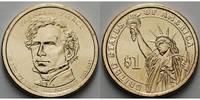 1 $ 2010 D USA Franklin Pierce / Kupfer-Nickel, Denver vz  3,50 EUR  + 7,00 EUR frais d'envoi