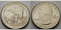 USA 1/4 $ 2010 P vz Yellowstone /P - Kupfer-Nickel - 2,00 EUR