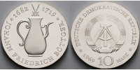 10 Mark 1969 Deutschland, DDR Joh. Friedrich Böttger, Silber,-Archivbil... 150,00 EUR  + 17,00 EUR frais d'envoi