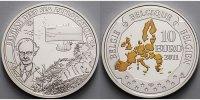 10 Euro 2011 Belgien Auguste Piccard / Bathyscaphe, mit farbiger Applik... 62,80 EUR  + 17,00 EUR frais d'envoi